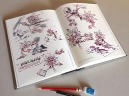 illustrations crayonnés- Chambéry