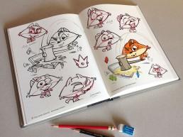 personnage mascotte jeu iPad