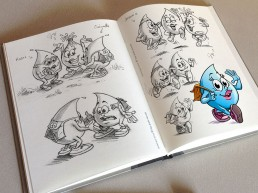 recherche crayonnés mascotte