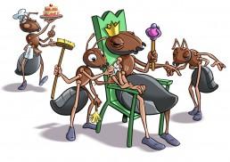 Dominique SENON - la reine des fourmis - Asters | Annecy