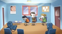 salle attente médecin
