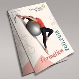 Dominique Sénon -création couverture brochure