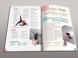 création maquette brochure présentation