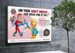 Création slogans campagne affiche