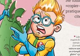 illustration personnage mascotte
