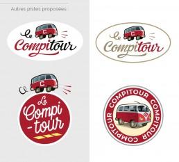 Planche propositions de logos - Dominique Sénon