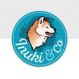 Dominique Sénon -création du logo Inuki & Co